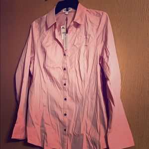 Pink button-down blouse from Express *NWT*